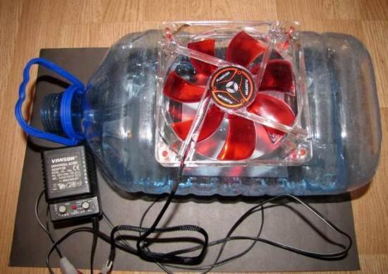с вентилятором