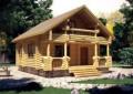 Дом из оцилиндрованного бревна - проекты и цены