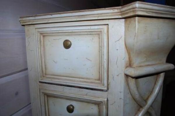шкафчик с декупажем