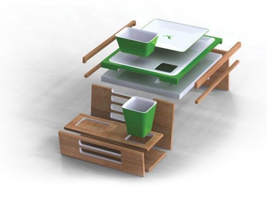 Конструкции столика