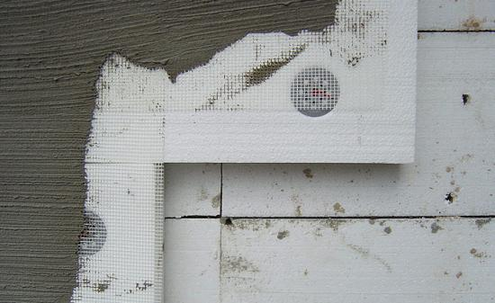 Монтаж теплоизоляционных листов.