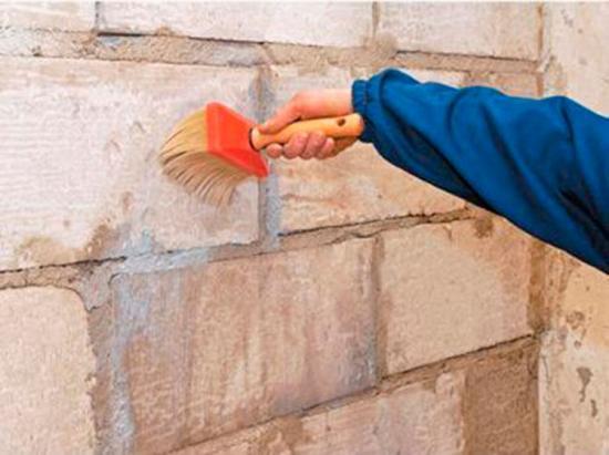 Стены отгрунтовать