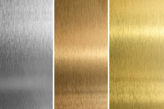 Имитация различных металлов