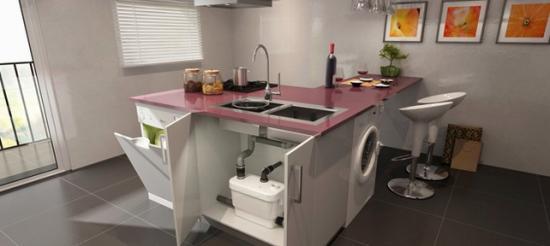 Можно устроить автономную временную кухню