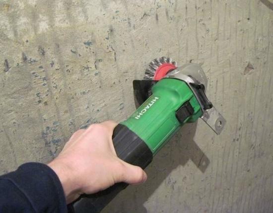 Обработка стены