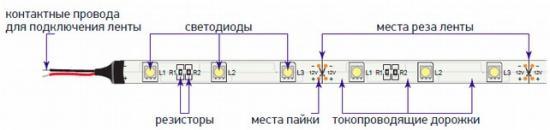 Схема подключения и состав