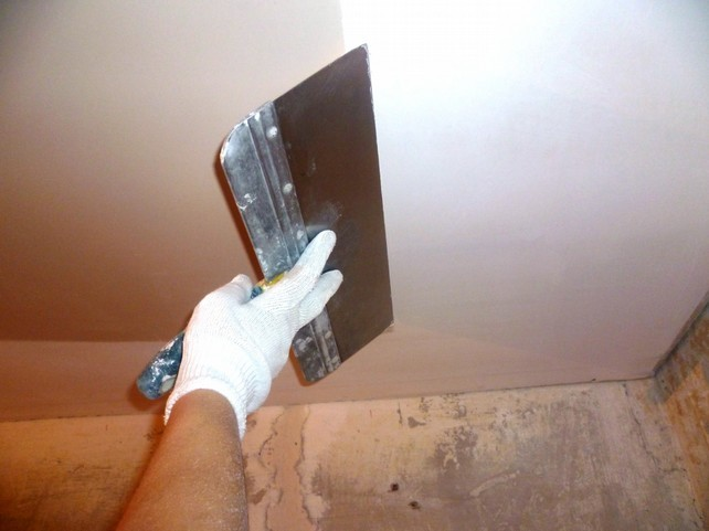 Выравнивание низкого потолка