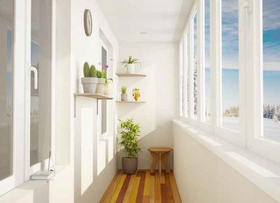 балкон может быть уютным, светлым и функциональным.ожно запросто устроить систему теплого пола