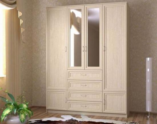 Шкаф из беленого дуба
