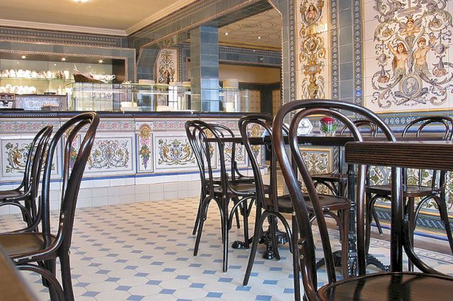Кафе при музее метлахской плитки