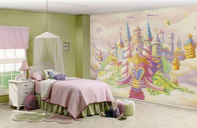 Фотоообои для комнаты девочки от 6 до 10 лет