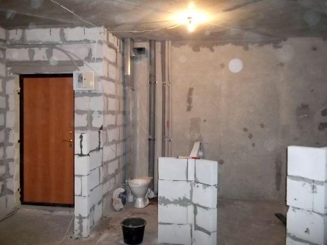 Капитальный ремонт квартиры.