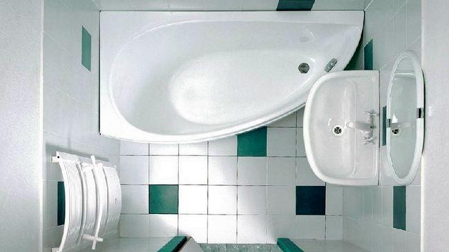 Примерная планировка в маленькой ванной