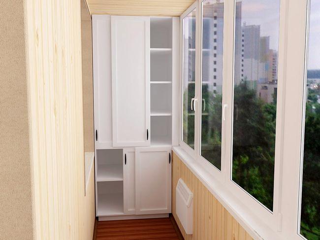 Шкаф на балкон2