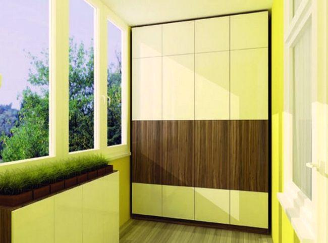 Шкаф на балкон3