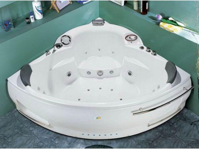 Ванны с гидромассажем производятся с использованием новейших технологий