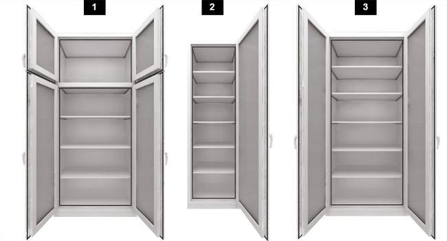 Варианты расположения дверей