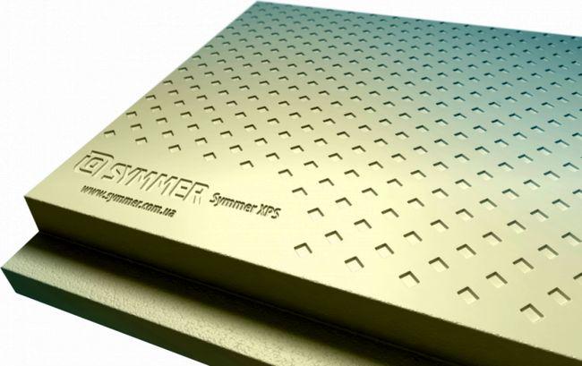 Экструдированный пенополистирол SYMMER XPS