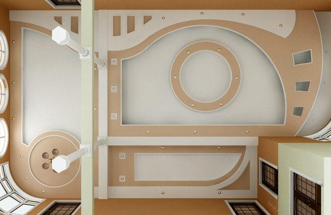 Дизайн-проекты натяжных конструкций