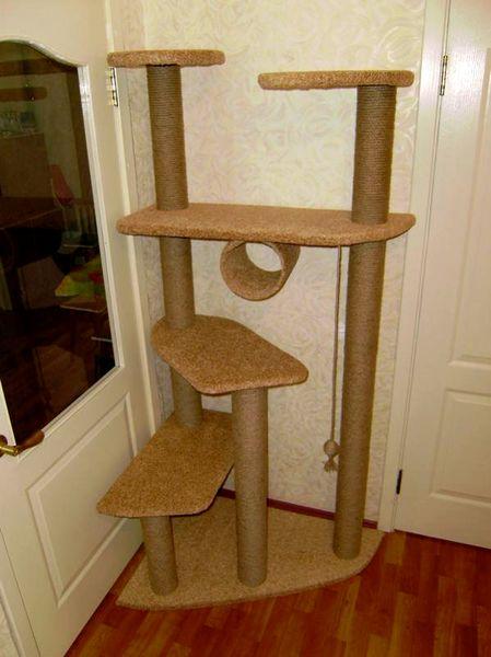 Домик для кошки своими руками-3