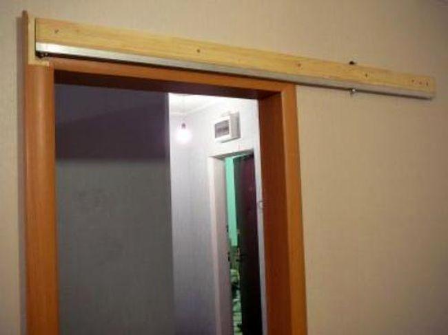 Верхняя дверная балка для раздвежной двери
