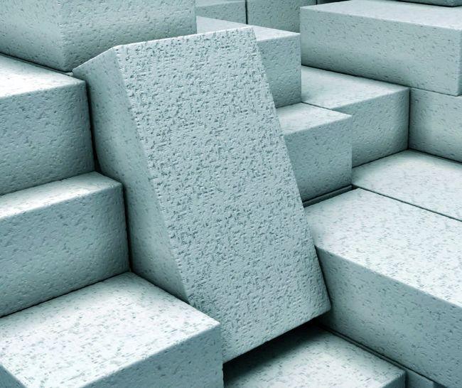 Отличия пенобетонных блоков