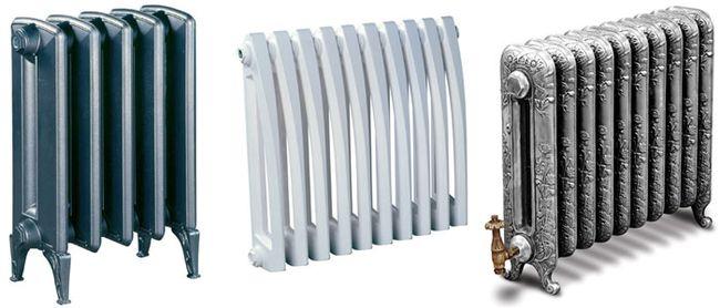 варианты радиаторов