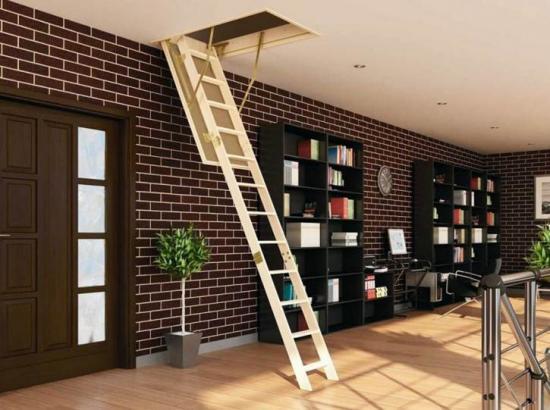 Делаем чердачную лестницу