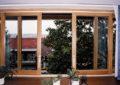 Деревянные раздвижные окна